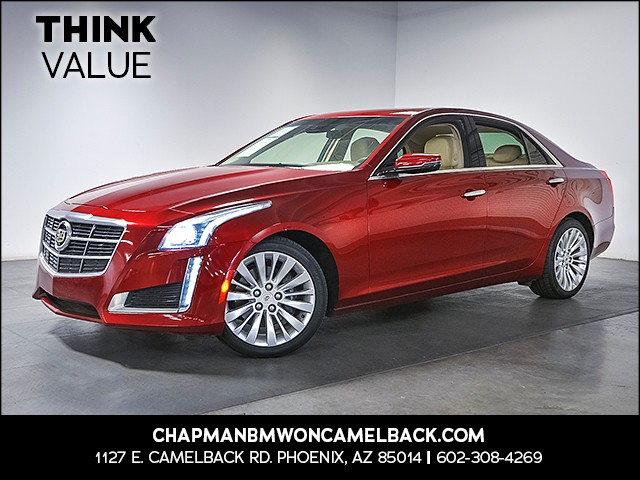 2014 Cadillac CTS 20T Luxury Collection 34221 miles Satellite communications OnStar Phone hands