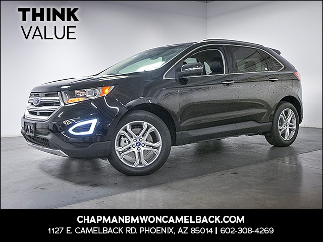 2016 Ford Edge Titanium 31184 miles Phone voice operated Wireless data link Bluetooth Wifi hots