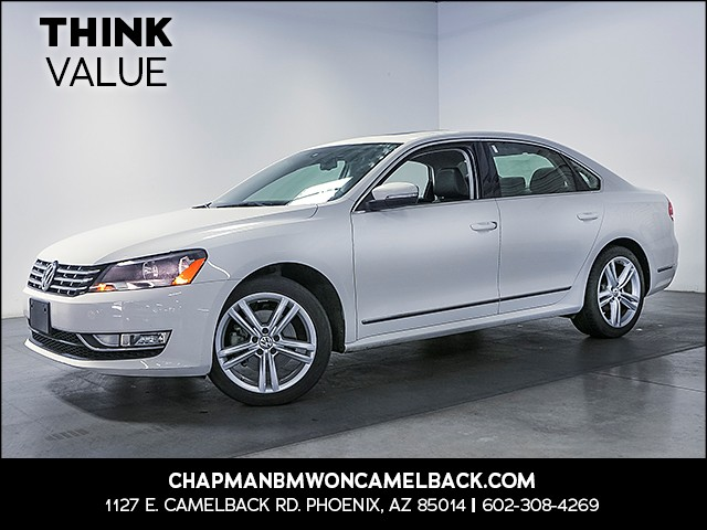 2014 Volkswagen Passat SEL Premium PZEV 49302 miles Real time traffic Wireless data link Bluetoo