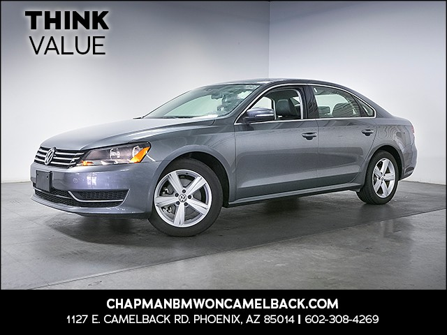 2013 Volkswagen Passat SE PZEV 24541 miles Wireless data link Bluetooth Cruise control 2-stage