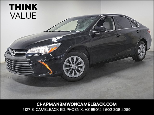 2017 Toyota Camry LE 21759 miles Wireless data link Bluetooth Cruise control 2-stage unlocking