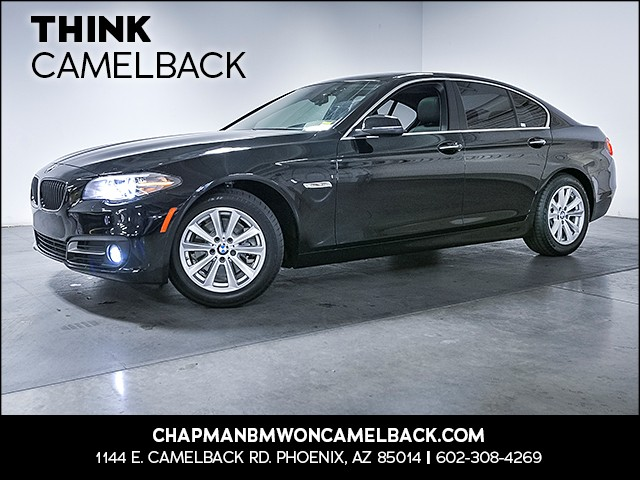 2015 BMW 5-Series 528i 32352 miles Driving Assistance Package Real time traffic Wireless data l
