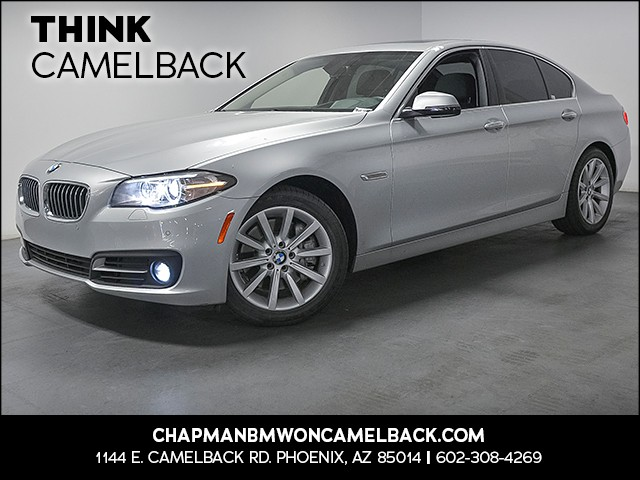 2015 BMW 5-Series 535i 34132 miles Premium Package Driving Assistance Package Real time traffic