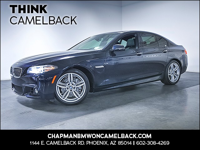 2015 BMW 5-Series 535i 28473 miles M Sport Package Technology Package Premium Package Driver A