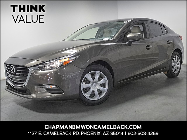 2017 Mazda Mazda3 Sport 3787 miles Wireless data link Bluetooth Electronic messaging assistance