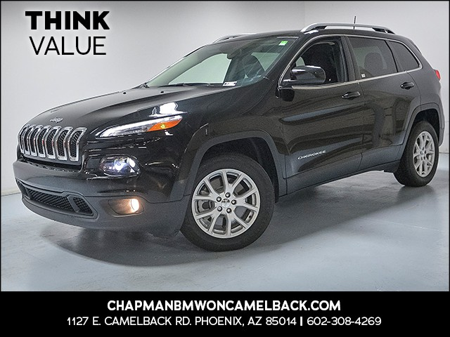 2017 Jeep Cherokee Latitude 12678 miles VIN 1C4PJLCB1HW586632 For more information contact ou
