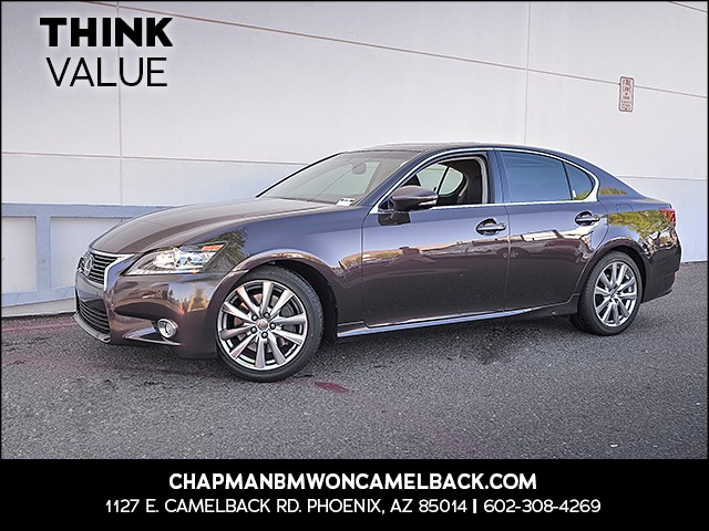 2013 Lexus GS 350 60459 miles 6023852286 Chapman Value Center in Phoenix specializing in lat