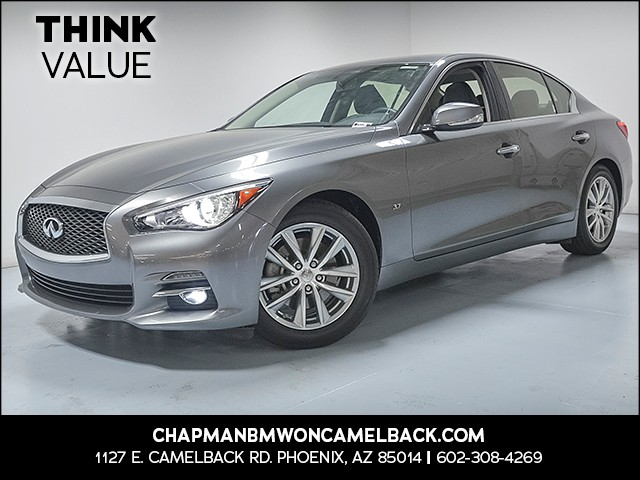 2015 INFINITI Q50 Premium 35271 miles 6023852286 Chapman Value Center in Phoenix specializin