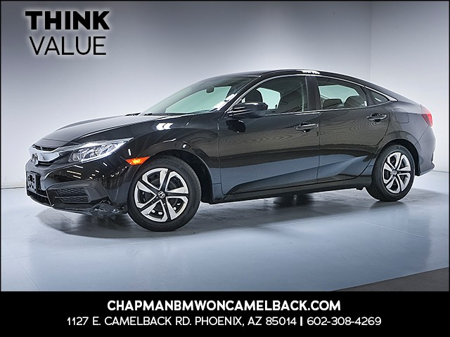 2016 Honda Civic LX 22539 miles 6023852286 Chapman Value Center in Phoenix specializing in l