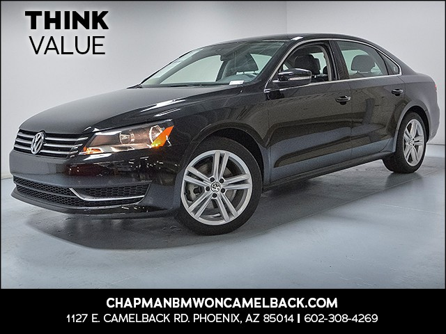 2014 Volkswagen Passat SE PZEV 24301 miles 6023852286 Chapman Value Center in Phoenix specia