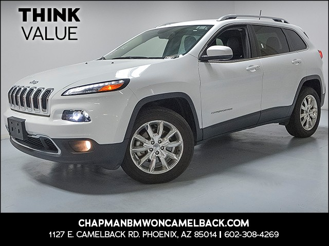 2017 Jeep Cherokee Limited 35729 miles VIN 1C4PJMDB4HW515042 For more information contact our