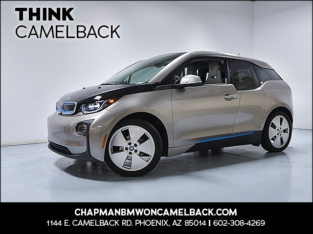 2015 BMW i3 REX 30177 miles Why Camelback Chapman BMW on Camelback is the C
