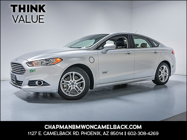 2015 Ford Fusion Energi Titanium 43759 miles 6023852286 Chapman Value Center in Phoenix spec