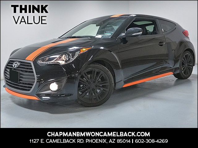 2017 Hyundai Veloster Turbo 18493 miles VIN KMHTC6AE8HU314075 For more information contact ou