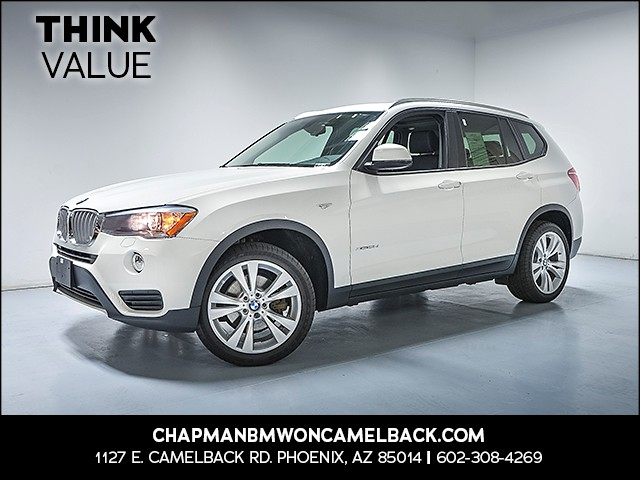 2016 BMW X3 xDrive28d 33187 miles Why Camelback Chapman BMW on Camelback is the Centrally locat
