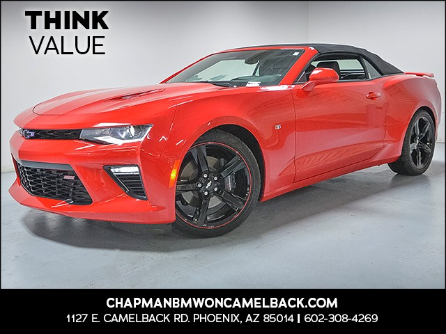2017 Chevrolet Camaro SS 2728 miles VIN 1G1FH3D76H0207234 For more information contact our in