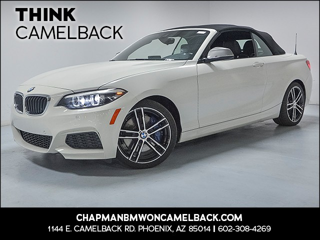2018 BMW M240i 8465 miles Why Camelback Chapman BMW on Camelback is the Centrally located on 12