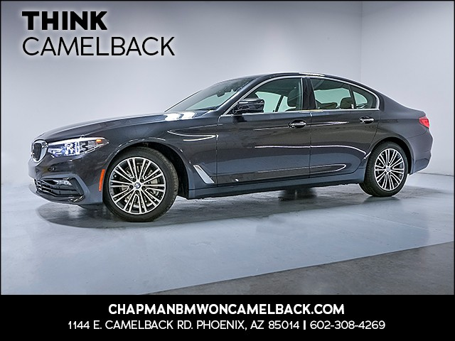 2018 BMW 5-Series 530i 8343 miles Why Camelback Chapman BMW on Camelback is the Centrally locat
