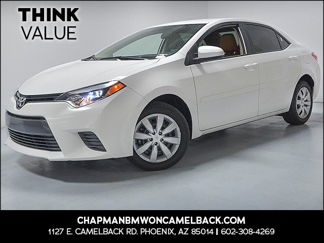 2016 Toyota Corolla L 13690 miles VIN 2T1BURHE2GC681411 For more information contact our inte