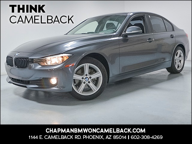 2015 BMW 3-Series Sdn 320i 35487 miles Why Camelback Chapman BMW on Camelba