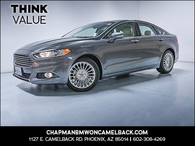 2015 Ford Fusion Titanium 28356 miles 6023852286 Think ValueChapman Value Center in Phoeni