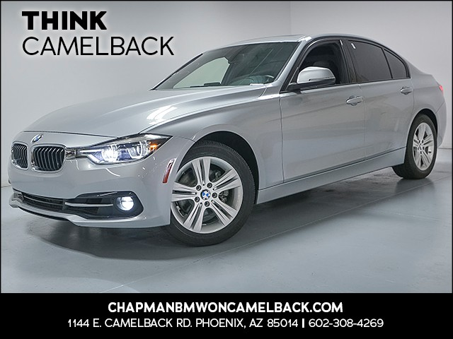 2016 BMW 3-Series Sdn 328i 31530 miles Why Camelback Chapman BMW on Camelback uses real time ma