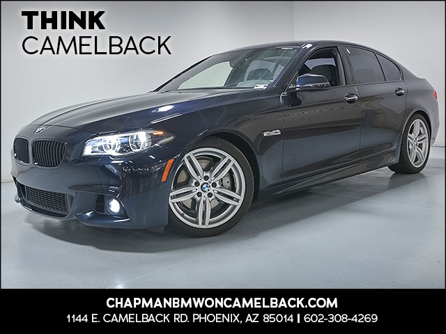2015 BMW 5-Series 535i 20708 miles Why Camelback Chapman BMW on Camelback uses real time market