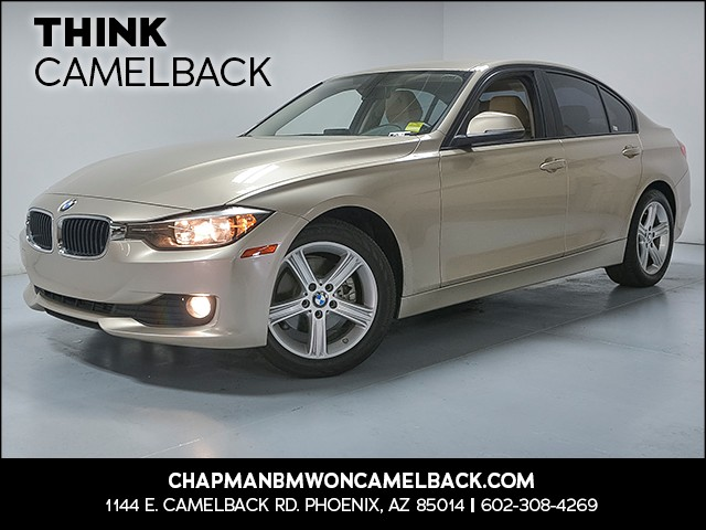 2015 BMW 3-Series Sdn 320i 49941 miles Why Camelback Chapman BMW on Camelback uses real time ma