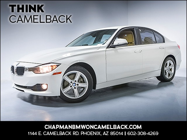 2014 BMW 3-Series Sdn 320i 52767 miles Why Camelback Chapman BMW on Camelback uses real time ma