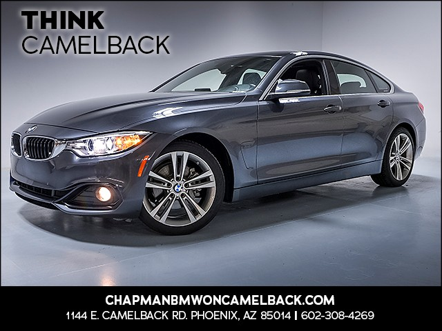 2016 BMW 4-Series 428i Gran Coupe 53219 miles Why Camelback Chapman BMW on Camelback is the Cen