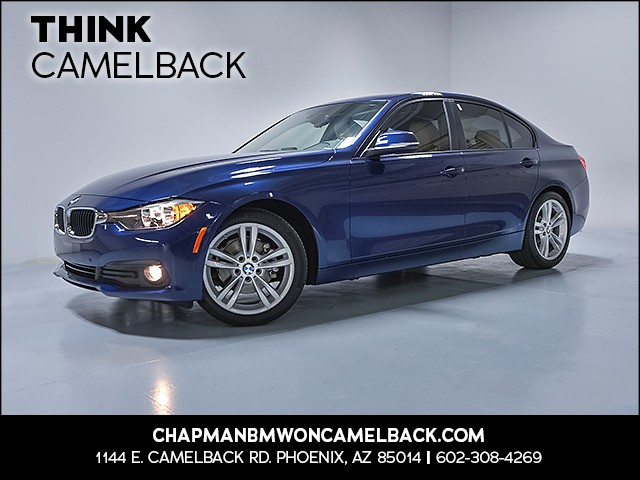 2016 BMW 3-Series Sdn 320i 8832 miles VIN WBA8A9C51GK619276 For more information contact our