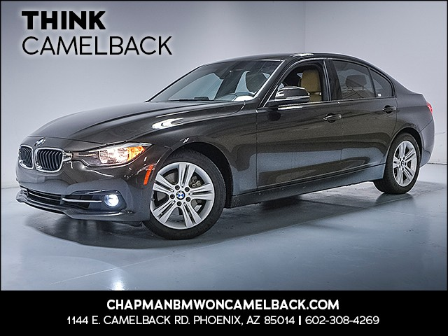 2016 BMW 3-Series Sdn 328i 45191 miles Why Camelback Chapman BMW on Camelback uses real time ma