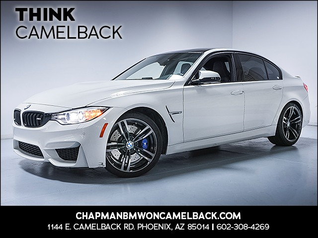 2016 BMW M3 39125 miles Why Camelback Chapman BMW on Camelback is the Centr