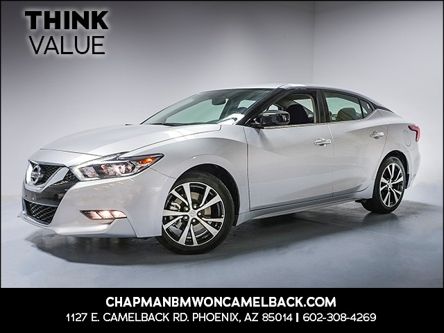 2017 Nissan Maxima 35 S 26980 miles 6023852286Think Camelback Chapman Value Center in Ph