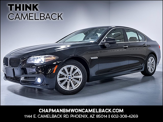 2015 BMW 5-Series 528i 49058 miles Why Camelback Chapman BMW on Camelback is the Centrally loca