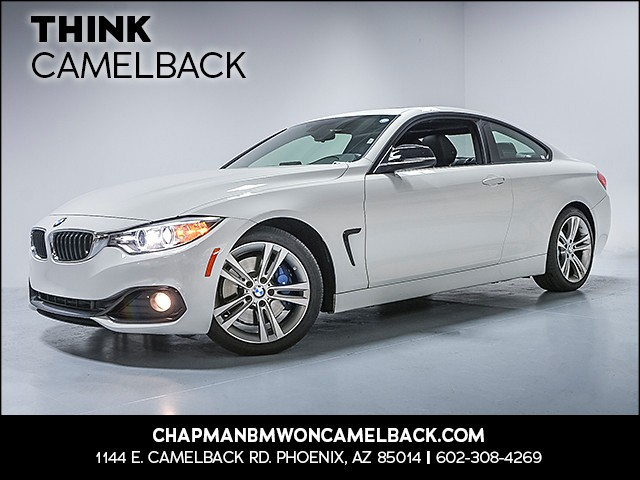 2015 BMW 4-Series 428i 43466 miles Why Camelback Chapman BMW on Camelback is the Centrally loca