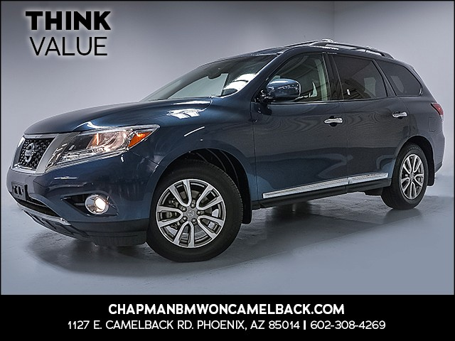 2015 Nissan Pathfinder SL 42223 miles 6023852286 Chapman Value Center in Phoenix specializing