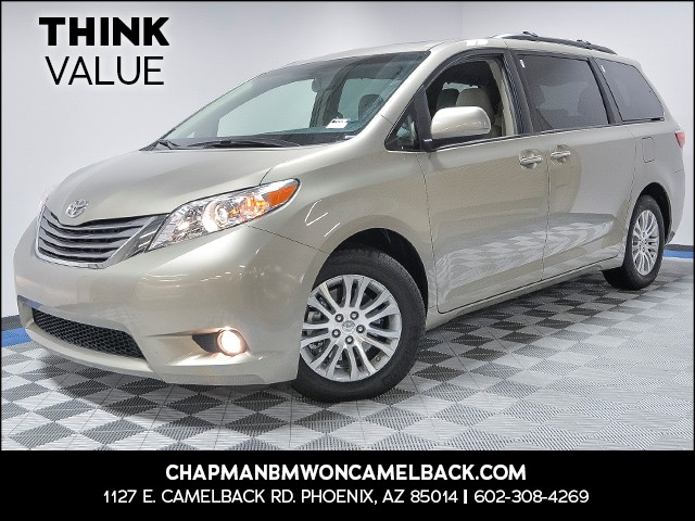 2017 Toyota Sienna XLE 8-Passenger 12021 miles VIN 5TDYZ3DC2HS798010 For more information con