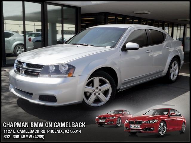 2011 Dodge Avenger Mainstreet 44627 miles Chapman BMW is located at 12th and Camelback in Phoenix