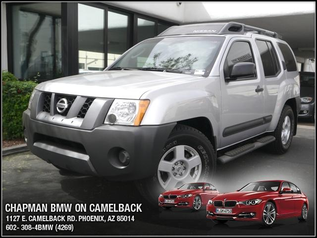 2006 Nissan Xterra 109299 miles Chapman BMW is located at 12th and Camelback in Phoenix 602-385-22