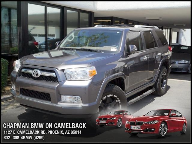 2010 Toyota 4Runner 4WD 65438 miles Chapman BMW is located at 12th and Camelback in Phoenix 602-38