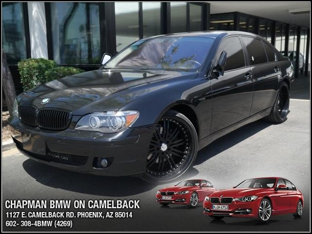 2007 BMW 7-Series 750Li 78517 miles Chapman BMW is located at 12th and Camelback in Phoenix 602-38