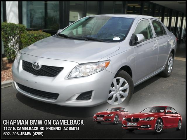 2010 Toyota Corolla 53277 miles Chapman BMW is located at 12th and Camelback in Phoenix 602-385-22