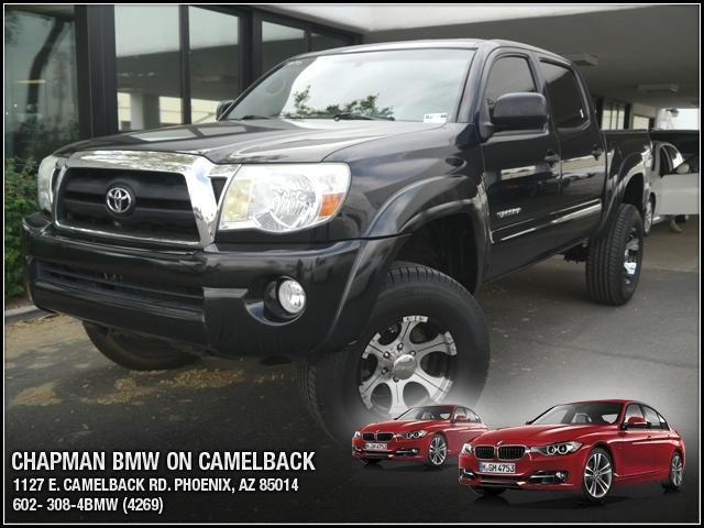 2007 Toyota Tacoma Double TRD SR5 4WD 89692 miles Chapman BMW is located at 12th and Camelback in 