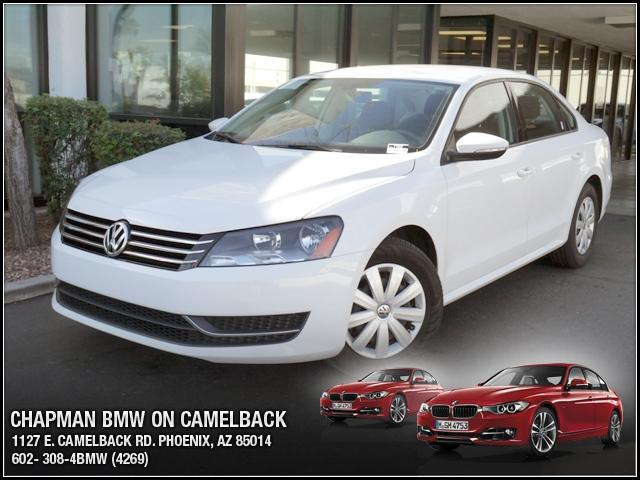 2012 Volkswagen Passat 25L S PZEV 31064 miles Chapman BMW is located at 12th and Camelback in Pho