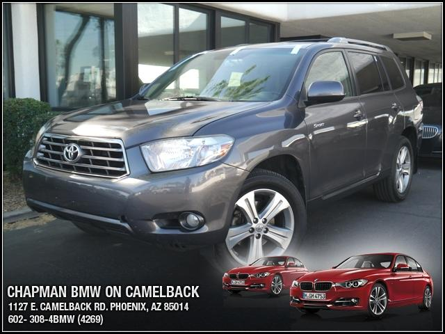 2008 Toyota Highlander Sport 4WD 117669 miles Chapman BMW is located at 12th and Camelback in Phoe