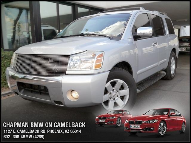 2004 Nissan Armada LE 113408 miles Chapman BMW is located at 12th and Camelback in Phoenix 602-385