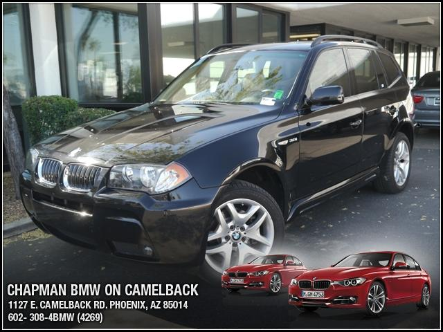 2006 BMW X3 30i AWD 100826 miles Chapman BMW is located at 12th and Camelback in Phoenix 602-385-