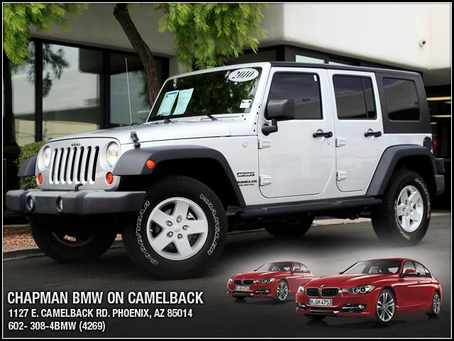 2010 Jeep Wrangler Unlimited 4WD 29783 miles Chapman BMW is located at 12th and Camelback in Phoen