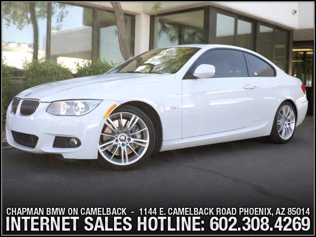 2011 BMW 3-Series Cpe 335i PremM Sport Pkg 24826 miles 1144 E Camelback Take advantage of exclu